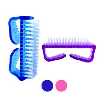 Cepillo para manicure grande, colores surtidos, 8 x 4 x 2.5 cm.