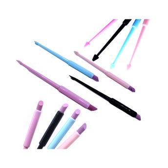 Palillo de naranjo de plástico para manicure, inner por color sujeto a disponibiliada, 12.5 cm.