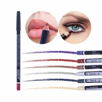 Lápiz delineador para ojos y labios, SANIYE, combinación # 02, 1.7 grs.
