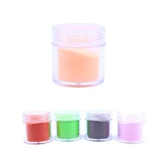 Acrílico para uñas, colores surtidos sujetos a disp, 10 gr aprox.