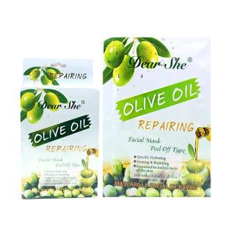 Mascarilla facial líquida de aceite de olivo, DEAR SHE, 20 grs.