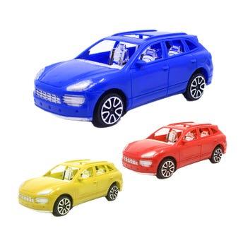 Carro de fricción grande, colores surtidos, 18 X 7.5 X 6 cm.