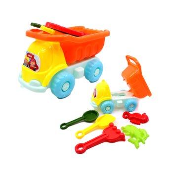 Carro de volteo con accesorios, colores surtidos, 16  X 10 cm.