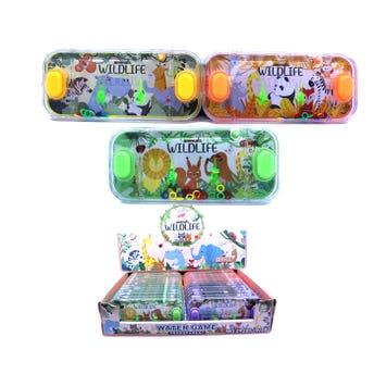 Juguete de agua con aros, colores surtidos, 6.5  X 15.5 cm.