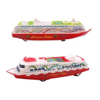 Barco de fricción, modelos surtidos, 15.5 X 3 X 4 cm.