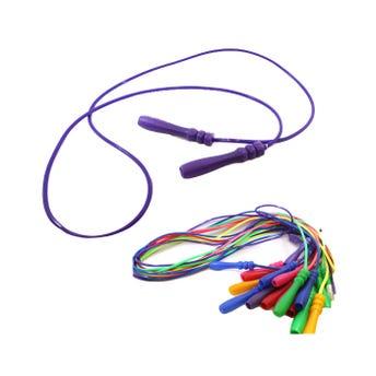 Cuerda para saltar, colores surtidos sujetos a disponibilidad, 2.20 mts.