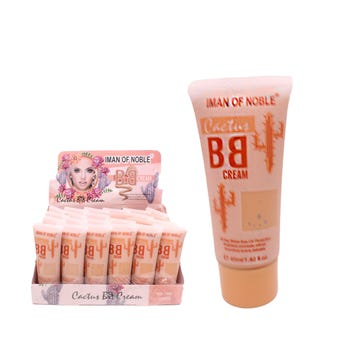 Maquillaje líquido, CACTUS BB CREAM IMAN OF NOBLE, tonos surtidos, 40 ml.
