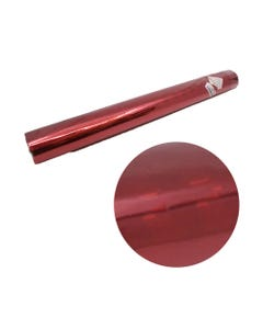 Pliego de papel para regalo de holograma, rojo, inner por mod sujeto a disp,70 X 50 cm.
