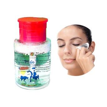 Desmaquillante dosificador, KISSCROWN, 10 x 5.5 cm.