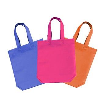 Bolsa ecológica, colores surtidos, 33 x 28.5 x 12 cm.