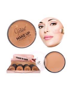 Maquillaje en crema, HITAO, 6 tonos surtidos, 10 grs.