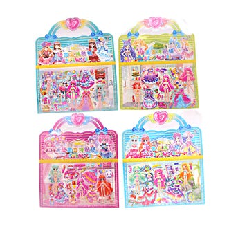 Sticker decorativo intercambiables de muñecas, inner por modelo sujeto a disp, 16.5 x 11 cm.