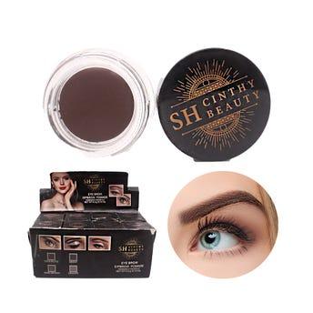 Maquillaje para ceja en crema, SH CINTHY BEAUTY, 4 tonos surtidos, 4 grs.