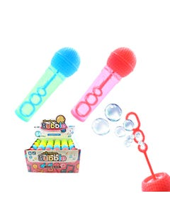Burbuja micrófono, colores surt, 11 X 3 cm..