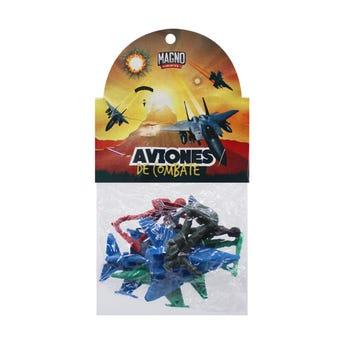 Muñequitos fuerza aérea, color surtidos, con 8 pz.