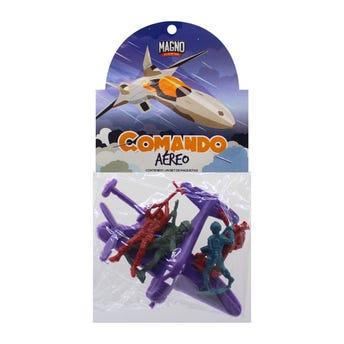 Comando aéreo, colores surtidos, con 5 piezas.